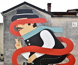 Murals by Agostino Iacurci