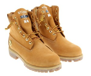 "TIMBERLAND X STUSSY BOOT""6 IN 3 COLORWAYS"
