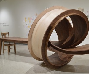 Twisted Table Sculptures by Michael Beitz