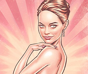 Celebrity Pin-up Posters by Renato Cunha