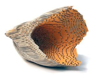 Pencil Sculptures by Jessica Drenk