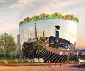MVRDV unveils reflective public art depot