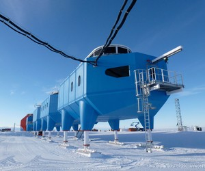 Halley VI Research Station by Hugh Broughton