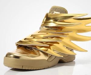 Jeremy Scott x adidas Original Wings 3.0 GOLD