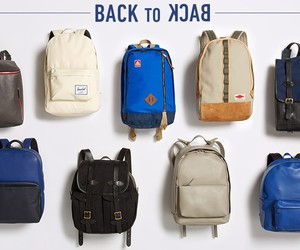 Back to Back. 10 Cool Backpacks