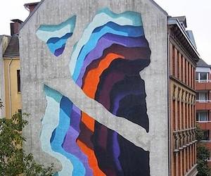 New Mural by 1010 for Knotenpunkt Festival