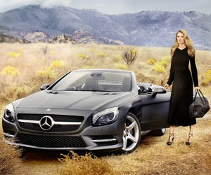 Lara Stone and the new Mercedes-Benz SL Roadster