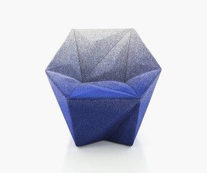 Gemma Armchair by Daniel Libeskind for Moroso