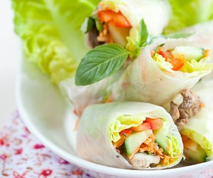 Vietnamese springrolls