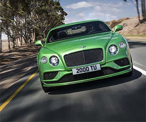 The Brand New Bentley Continental GT