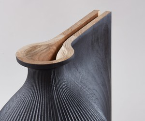 sculptural vessels by Zaha Hadid and Gareth Neal