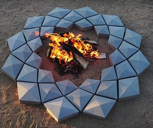 DIY: Modern design for a fire pit