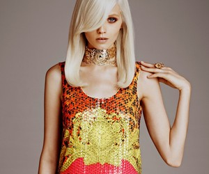 Abbey Lee Kershaw for Versace X H&M