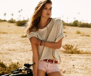 Daria Werbowy for Stefanel SS12 Ad Campaign