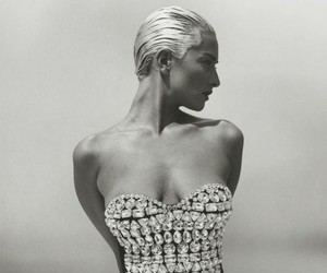 Tatjana Patitz Photographed by Herb Ritts For Vogu