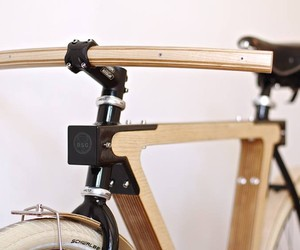 WOOD.b: wooden bicycles by BSG Bikes