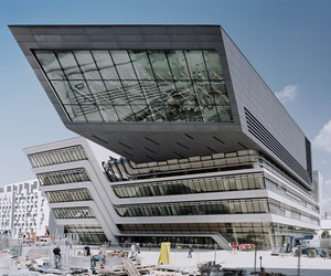Library and Learning Centre by Zaha Hadid