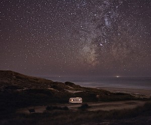 """A Van in the Sea"" – A Photography Project"