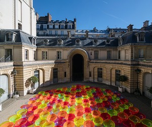 Liz West's Aglow Installation, Paris