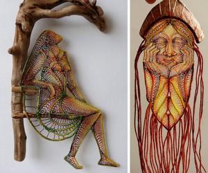 Textile Sculptures by Agnes Herczeg