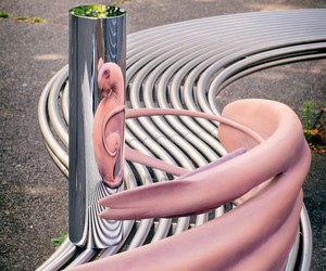Awesome Anamorphic Sculptures