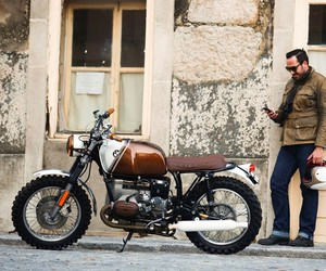 BMW R45 Custom Motorcycle