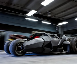 Custom Batmobile Tumbler Worth Over $1 Million