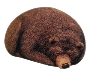 Large Grizzly Bear Bean Bag