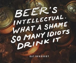 Beer Quotes – Typographic Posters Celebrating Beer