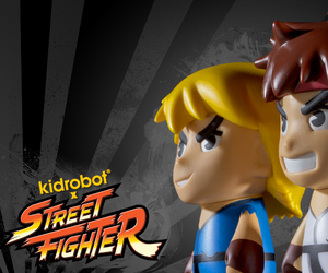 Street Fighter x Kidrobot