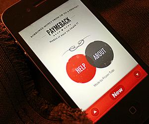 PayMeBack iPhone App