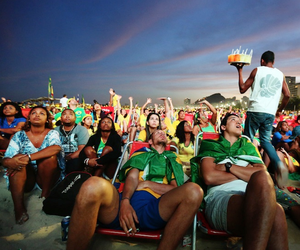 Exploring Crowds At The World Cup 2014