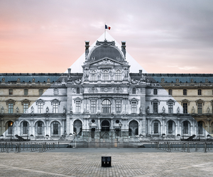 Artist JR Makes Louvre Pyramid Disappear