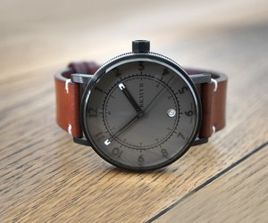 Bravur Ip Black Graphite Watch