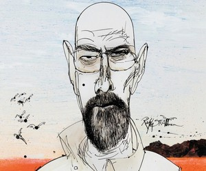 Breaking Bad Illustrations by Ralph Steadman