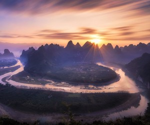Breathtaking Landscapes of Guilin in China