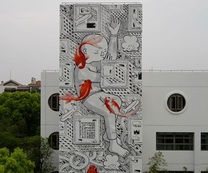 Childhood Dream - New Mural by Millo in China