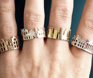 Cityscape Rings Feature Architectural Highlights