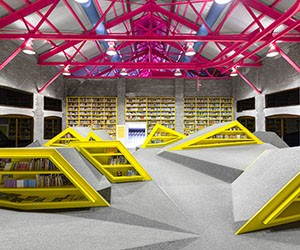 Conarte Childrens Library by Anagrama