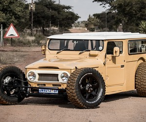Land Cruiser FJ 40 Hot Rod