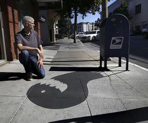 Shadow-Art by Damon Belanger in California