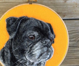 """Painting with wool"" - Awesome Animal Portraits"