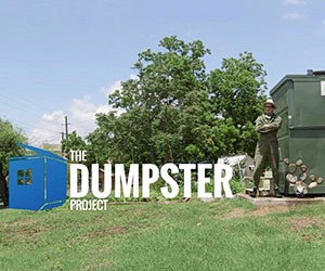 From a Dumpster into a High Tech Home