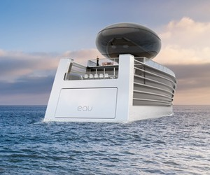 Tjep. Unveils EAU Concept Electric Luxury Yacht