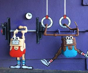 GET FIT! with Street Artist Tom Bob in Los Angeles