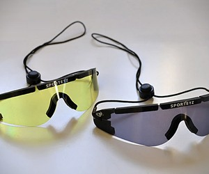 Roll-Up Sport Sunglasses