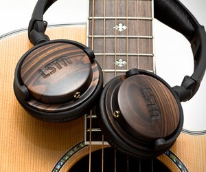 Eco-Friendly Wood Headphones by LSTN