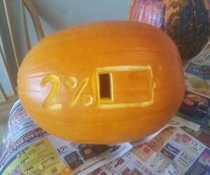 Halloween Pumpkin from Hell