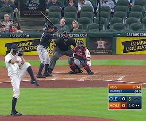 Baseball Helmet Kicking Slide