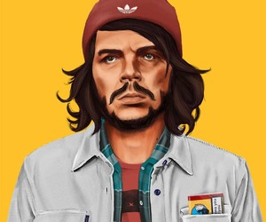 """Hipstory"" – Cultural Icons As Hipsters"